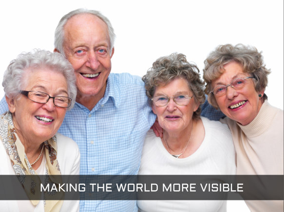 MAKING THE WORLD MORE VISIBLE