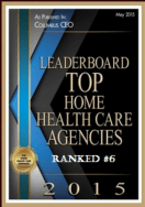 leaderboard top home health care agencies